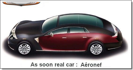 projet Aéronef - As soon real car